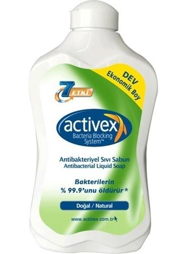 Activex Activex Antibakteriyel Sıvı Sabun Doğal Koruma 1500 ml Renksiz